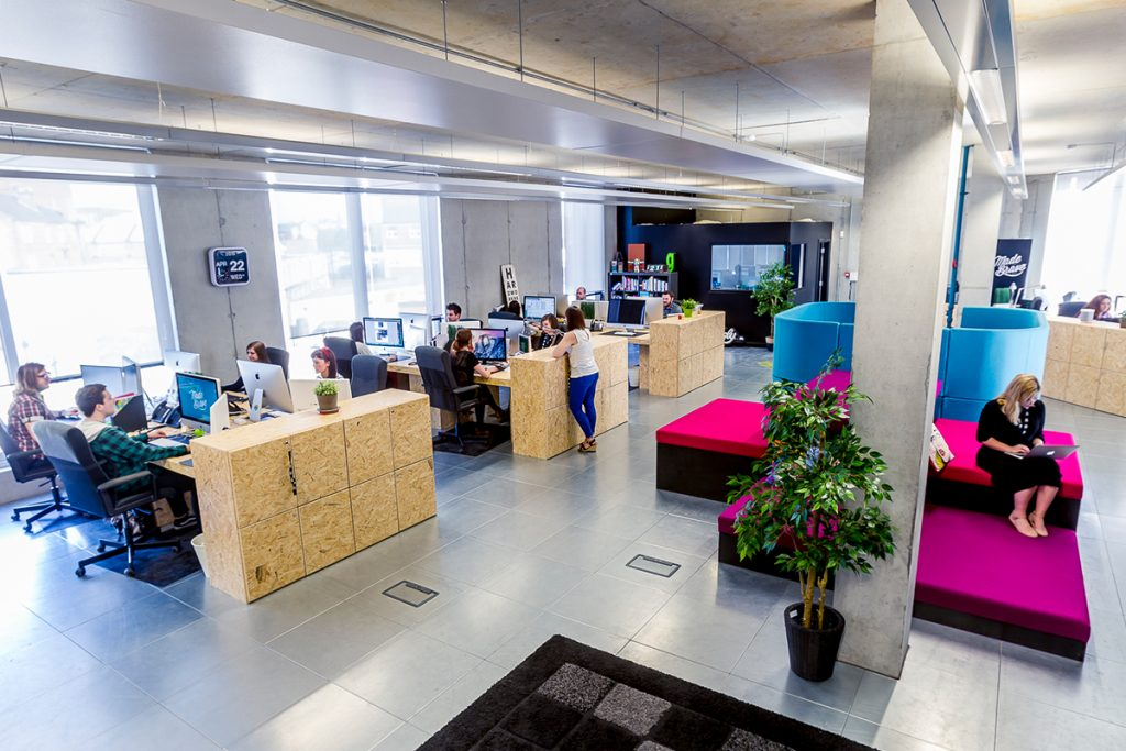 MadeBrave's new office in the Albus Building