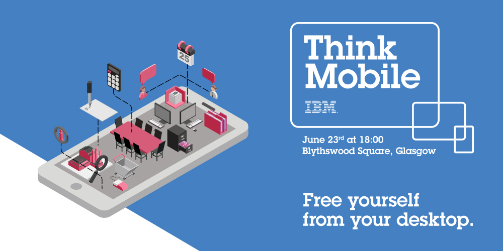 IBM think mobile event