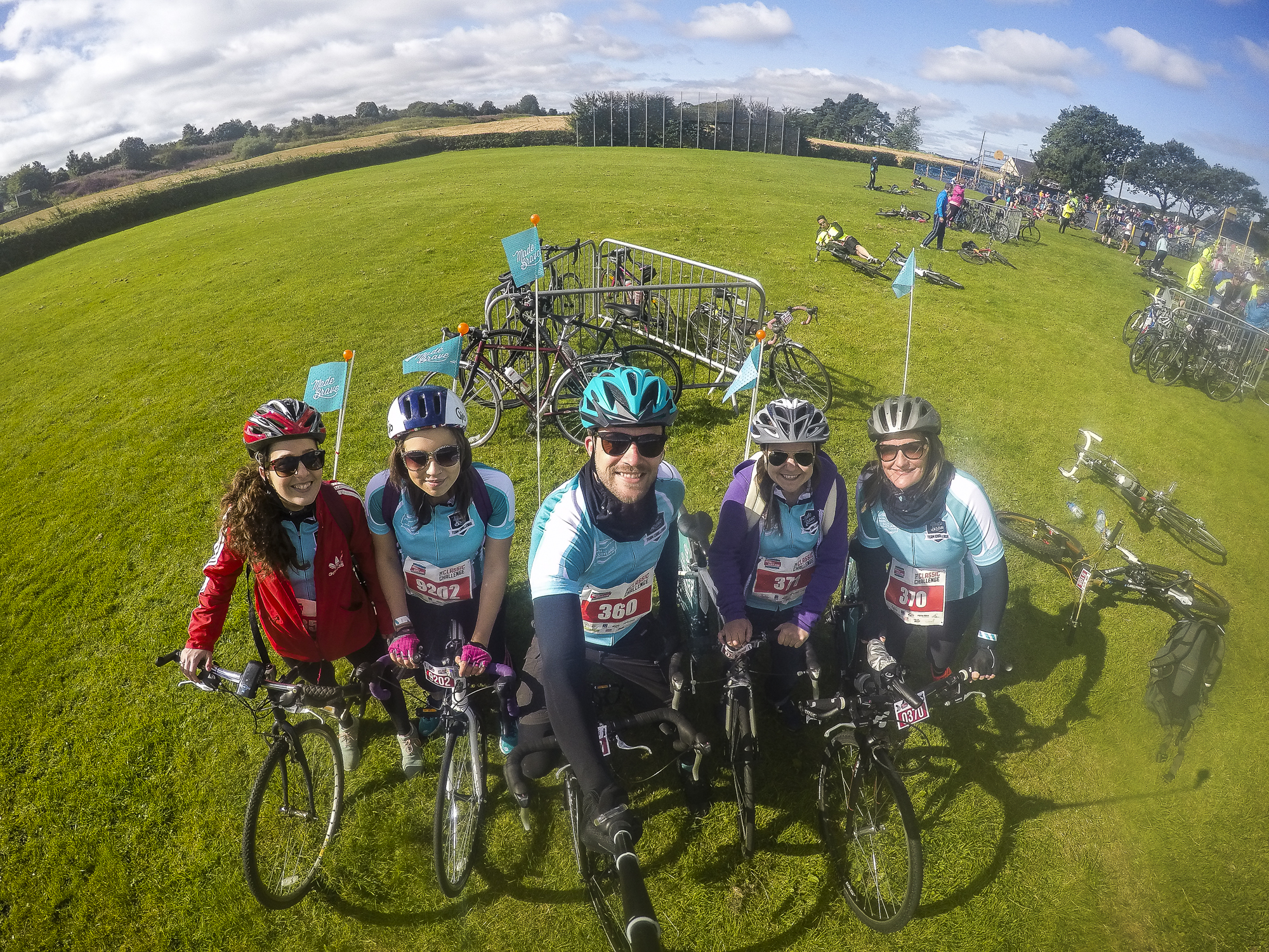 pedal for scotland stops