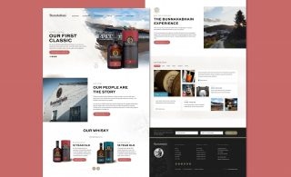 Bunnahabhain Ecommerce Website Design