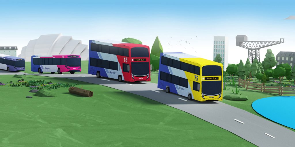 Illustration of First Bus New Buses