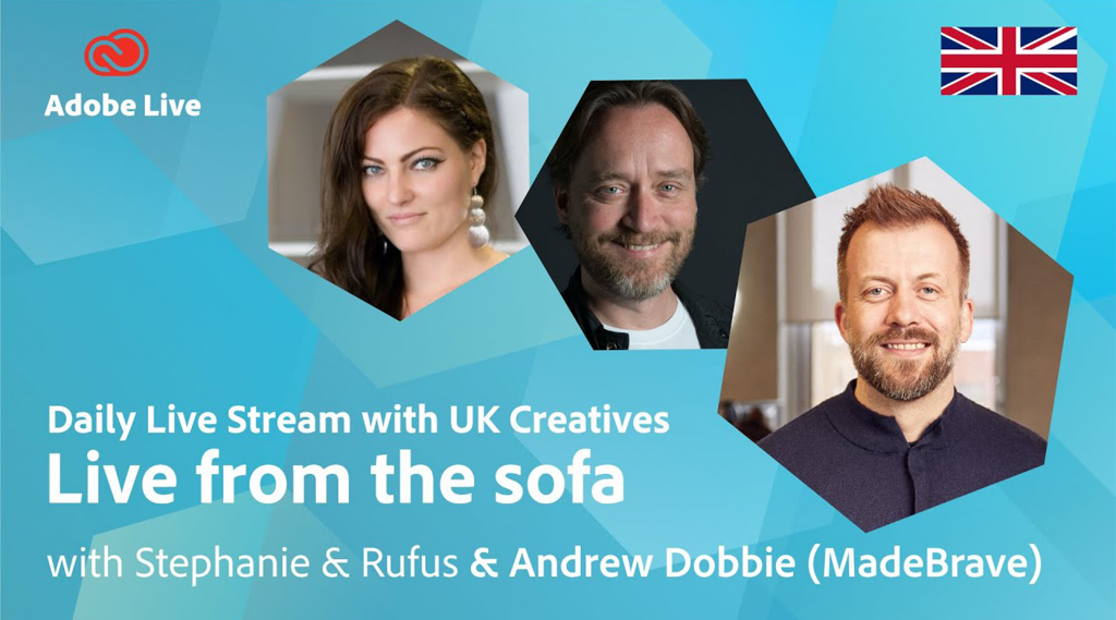 Adobe Live from the Sofa
