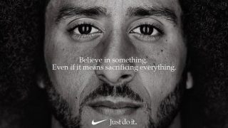 Photo of Colin Kaepernick for Nike's 2018 'Dream Crazy' campaign